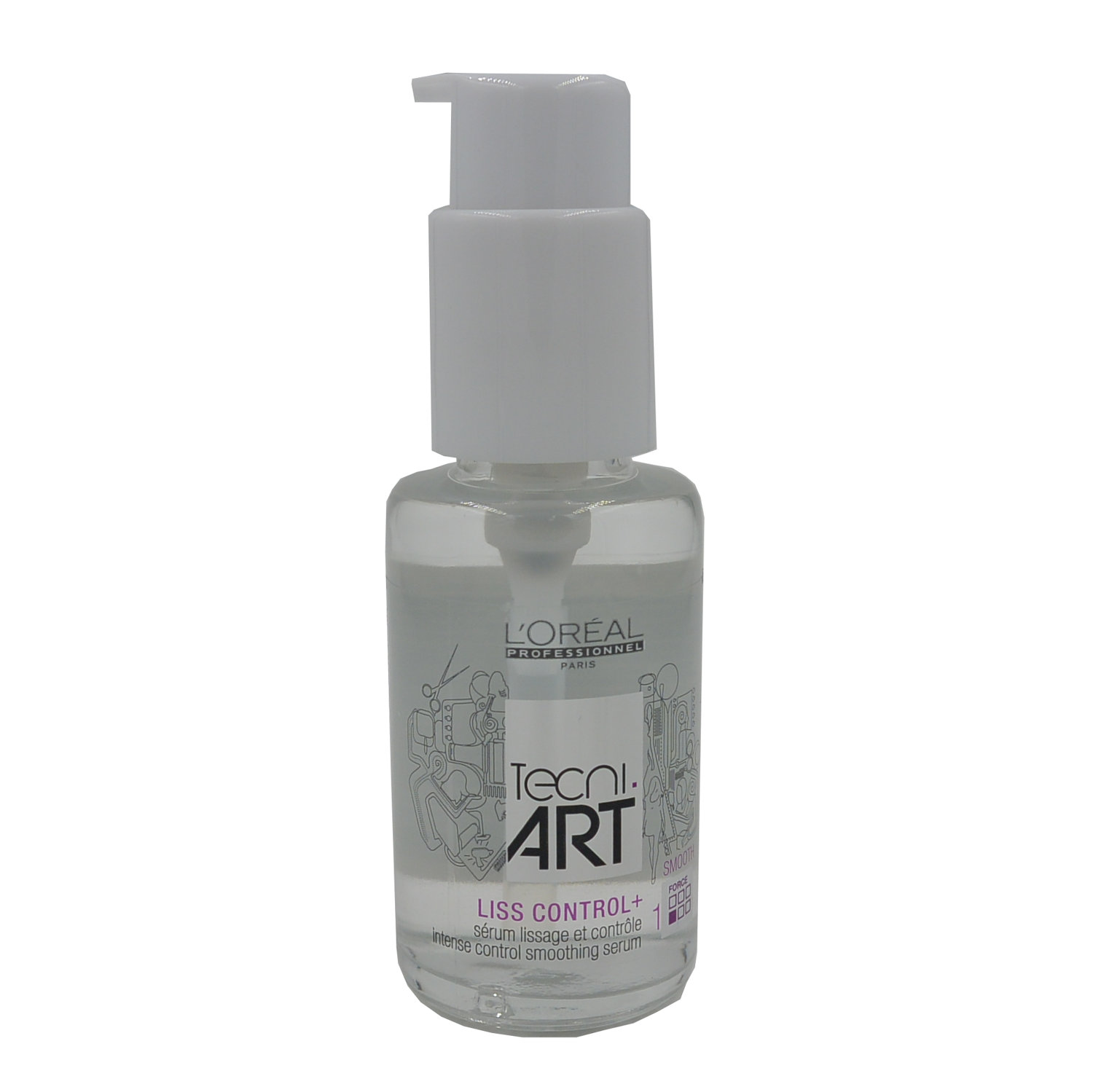Loreal Professionnel Tangent.Art Liss Control Serum + - Intensive Serum for smoothing hair 50ml